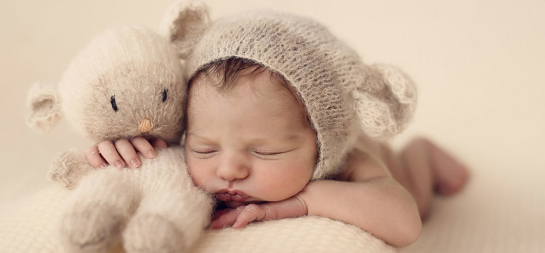 neonata -pupazzetto