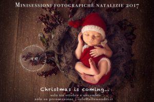 Minisessioni fotografiche Natale 2017